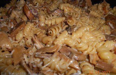One Pot Pasta, Poulet Rôti (utiliser un reste de poulet rôti)