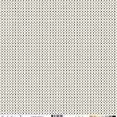 FDSF01504feuille un air de noel beige points blancs FEE DU SCRAP