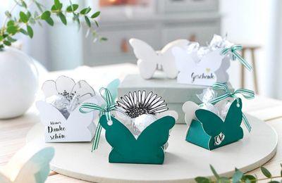 Jolis papillons pour fêtes d'été