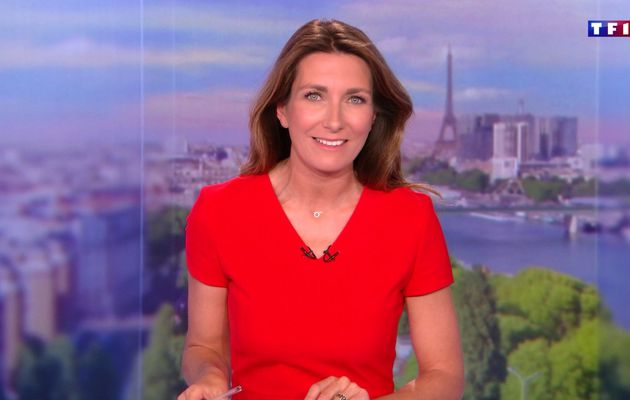 📸22 ANNE-CLAIRE COUDRAY @ACCoudray @TF1 @TF1LeJT pour LE 20H WEEK-END #vuesalatele