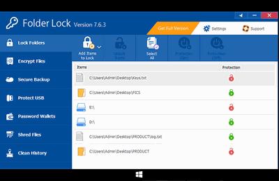 Folder Lock 7.6.9 Keygen
