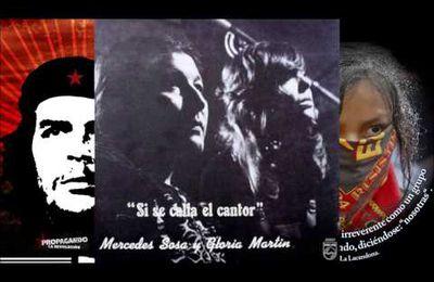 Mercedes Sosa y Gloria Martin -  Si Se Calla El Cantor (1977)