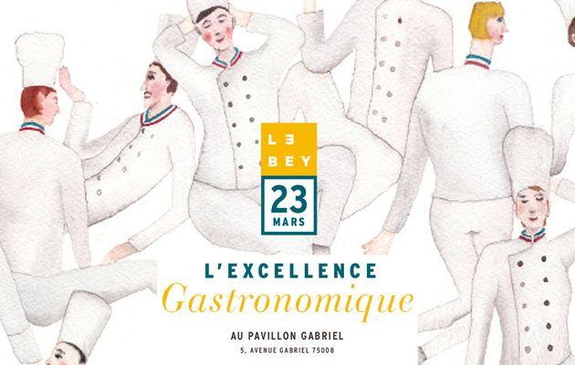 L'Excellence gastronomique 2020 : un dîner exceptionnel 12 étoiles !