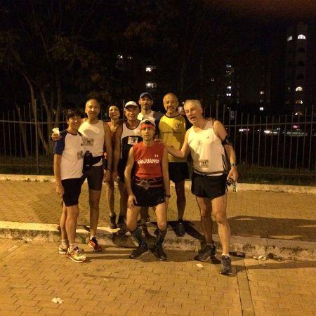 Daniele Alimonti ha festeggiato il suo 50° compleanno, correndo una maratona al giorno per 50 giorni