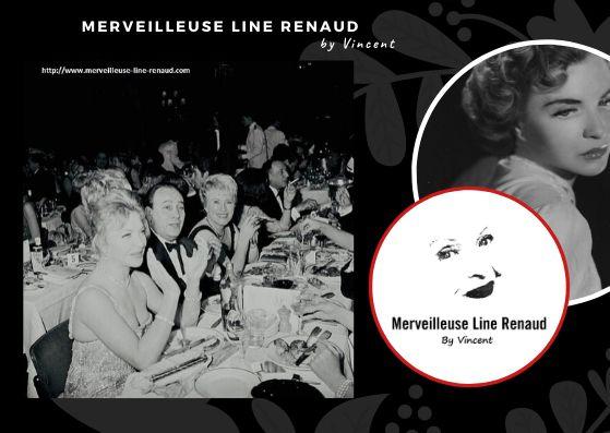 PHOTOS: Line Renaud et Tino Rossi 1962