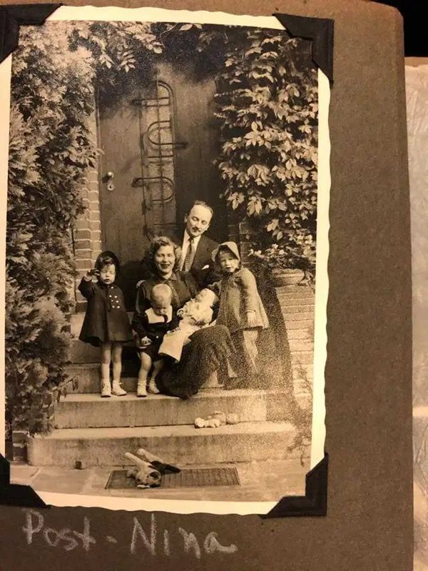 The Ferencz family in Nuremberg in 1953 [Photo courtesy of the Ferencz family]