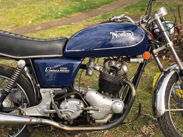 NORTON COMMANDO 750 DE 1972