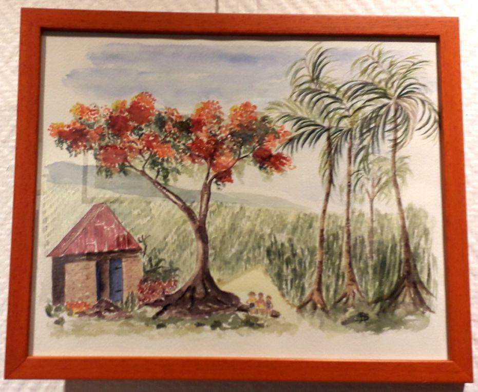 """Exposition """"Voyage de l'aquarelle"""""""