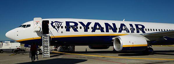 Le trafic de Ryanair en juillet augmente de 4% à 13.1m de clients