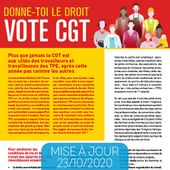 Outils de campagne - La CGT dans les TPE