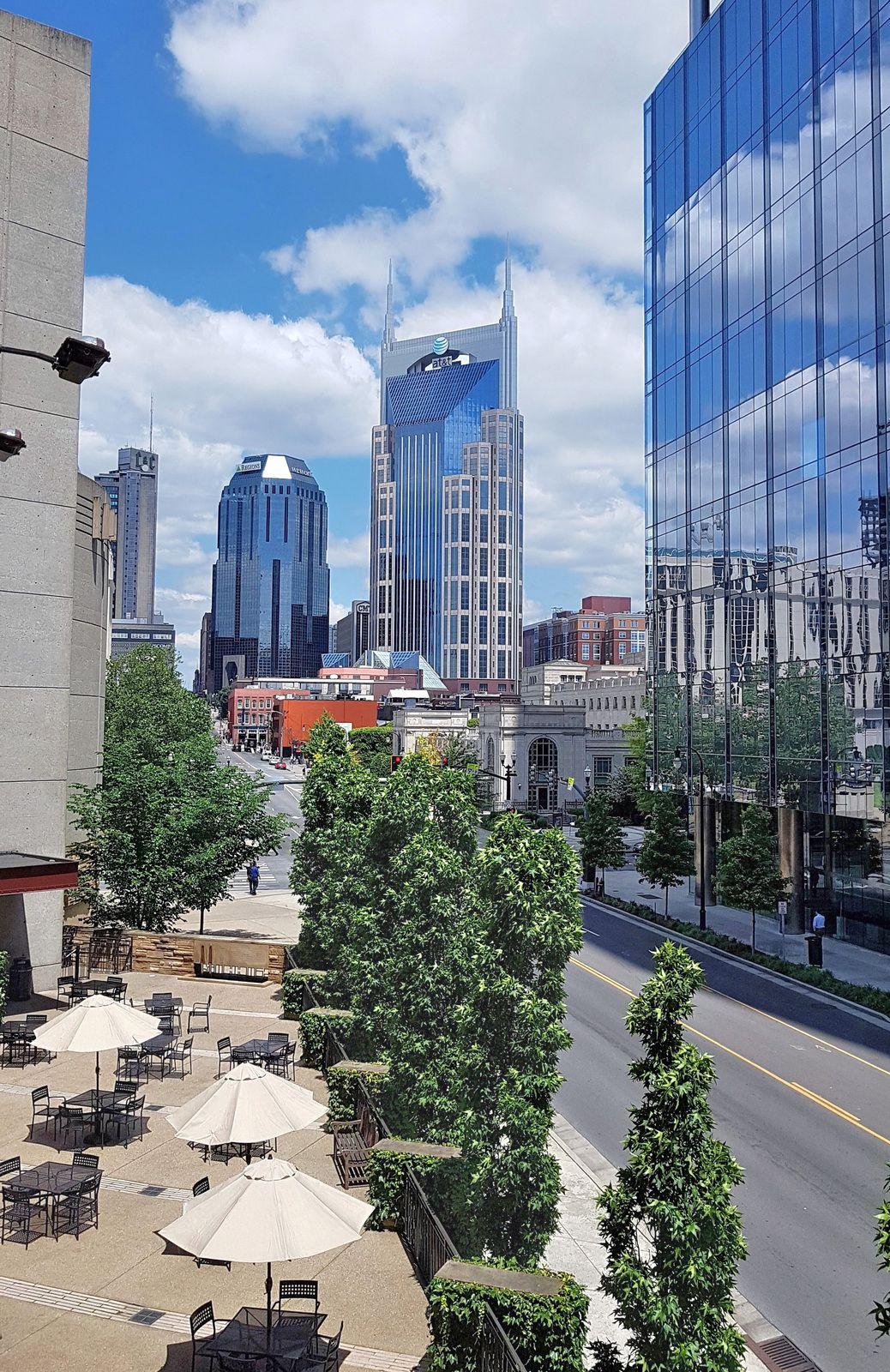 Nashville vue sur Batman Building