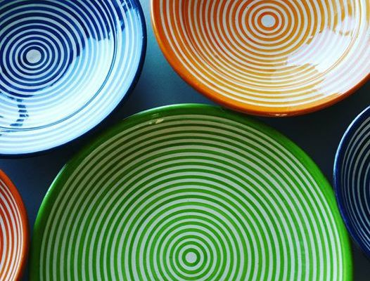 Mes nouvelles assiettes made in Maroc