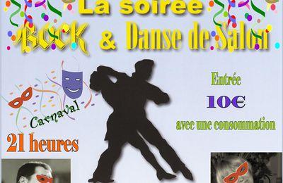 Samedi 14 Mars 2015. C'est Carnaval . . . Déguisez vous pour la Soirée Danse de Salon et Rock à Amboise.
