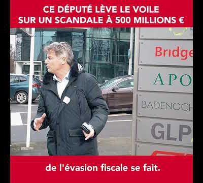 Fabien Roussel traque l'évasion fiscale au Luxembourg