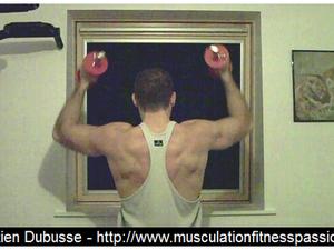 Le Développé Arnold, Sébastien Dubusse, blog Musculation Fitness Passion