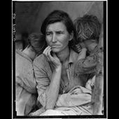 """Story of """"Migrant Mother"""" Photograph by Dorothea Lange - American Artifacts"""