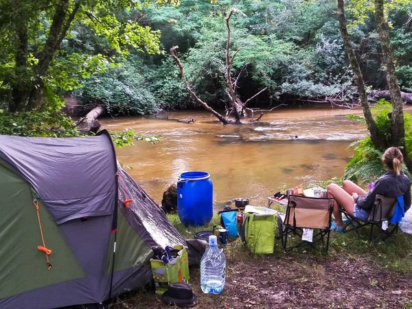 bivouac into the Leyre...