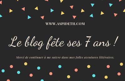 7 ans du blog