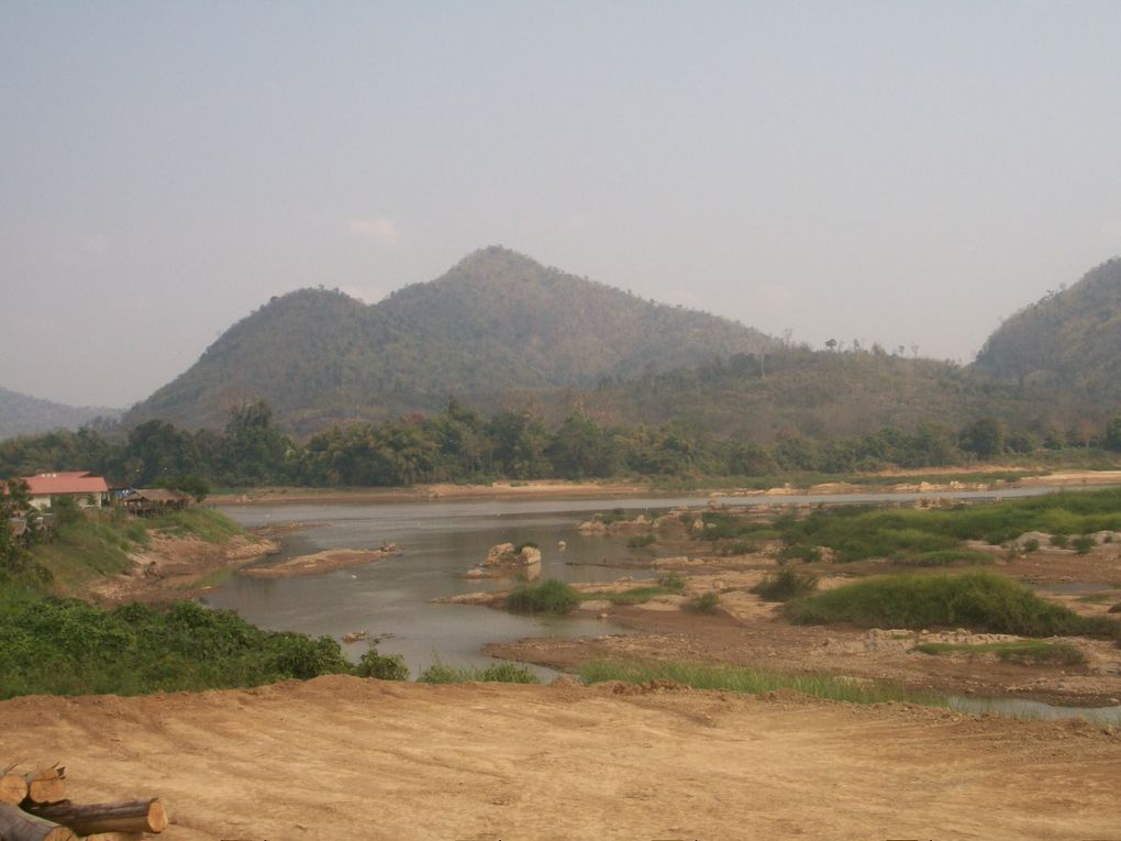 Thaïlande : Photos le long du Mékong entre Chiang Khan et Sangkhom