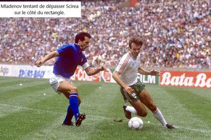 Coupe du Monde 1986 au Mexique, Groupe 1: Italie - Bulgarie