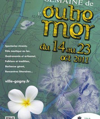 Semaine de l'outre mer à Gagny du 14 au 23 oct 2011
