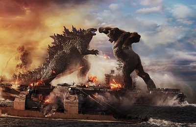 GODZILLA VS KONG brille au box-office américain