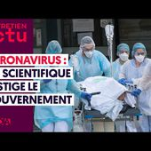 CORONAVIRUS : UN SCIENTIFIQUE FUSTIGE LE GOUVERNEMENT - Commun COMMUNE [le blog d'El Diablo]