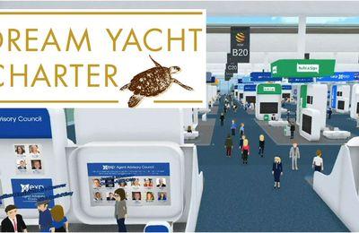 Dream Yacht Charter - réserver sa location voilier, sur Virtual Nautic les 12 et 13 mars