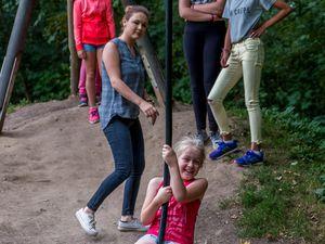 Centre Lakanal: sortie Parc de Gavers en Belgique 02/08/2017