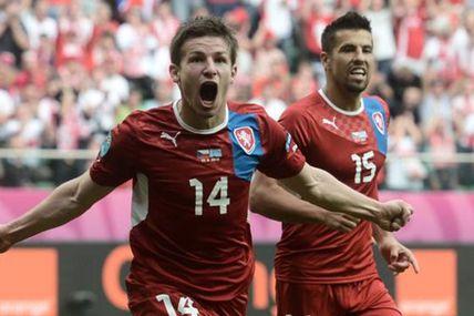 Euro 2012 : La République Tchèque bat la Grèce, 2 à 1