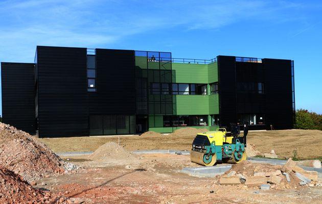L'extension du hall technologique livrée en décembre