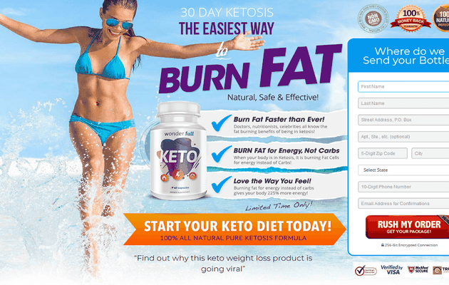 Wonder Full Keto – Diet Pills To Make Your Body Slim, Healthy & Energetic!