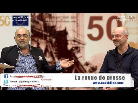 Revue de Presse Economique - Pierre Jovanovic - Janvier 2018