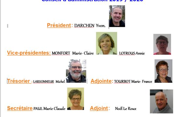 2019-2020 Conseil d'administration