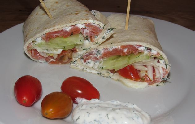 WRAP SAUMON