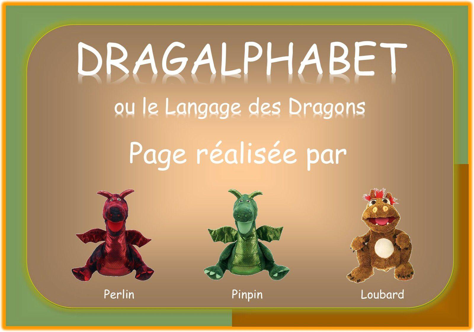 DRAGALPHABET ou le langage des Dragons