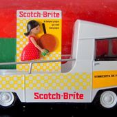 FASCICULE N°64 CITROEN TUB TYPE HY SCOTCH BRITE 3M RUBAN ADHESIF IXO 1/43 - car-collector.net