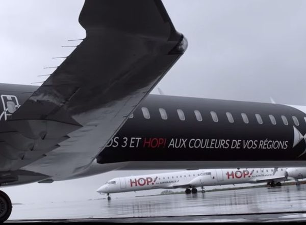 MARKETING : DS PERSONALIZES A HOP!'S AIRCRAFT