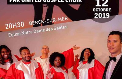 THE JOY OF GOSPEL...C'EST A BERCK,  LE 12 OCTOBRE 2019...