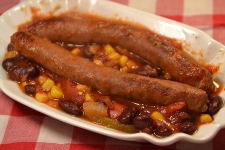 Chili con merguez cookeo