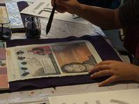L'atelier Calligraphie de Nathan