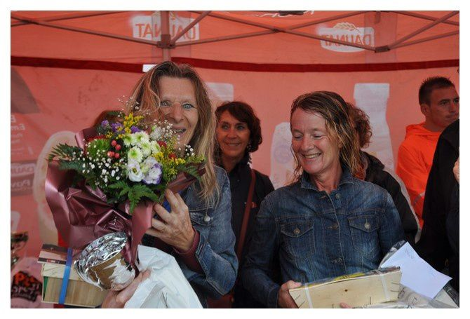 Saint Vaast la Hougue, course du Run : Les podiums (1/4)