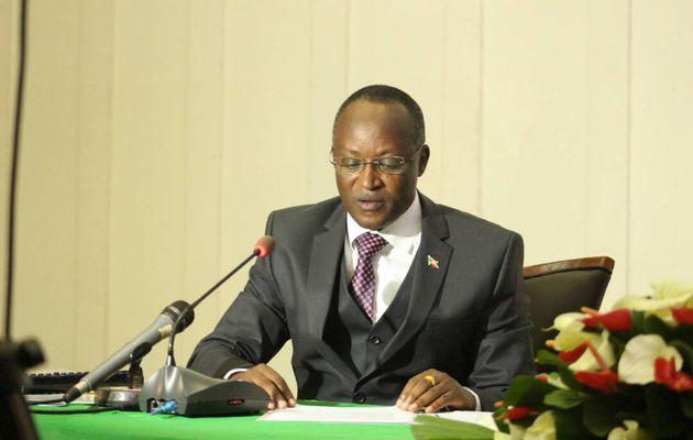 Présentation des réalisations du gouvernement par le Premier vice-président du Burundi