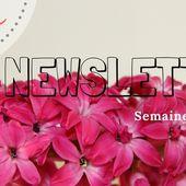 Newsletter sem 50 et 51. - Jard'infos