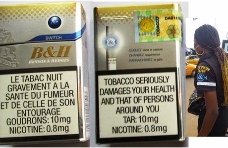 Contrebande  25% des cigarettes vendues au Cameroun sont illicites