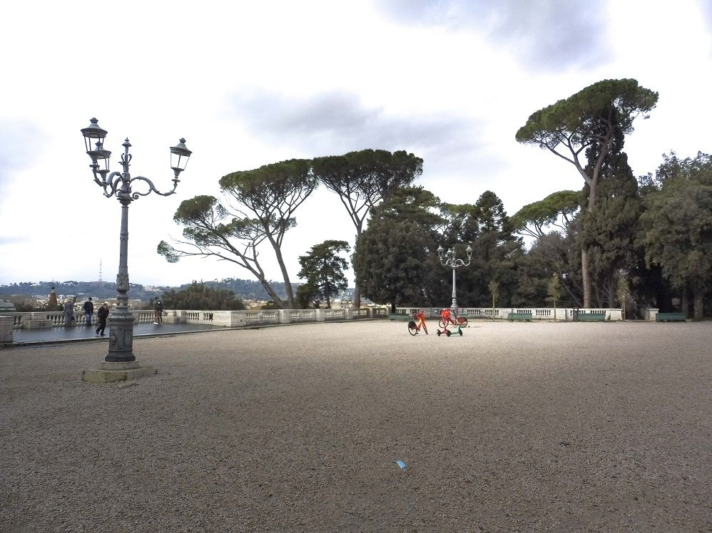 Le GRAND parc de la Villa Borghese