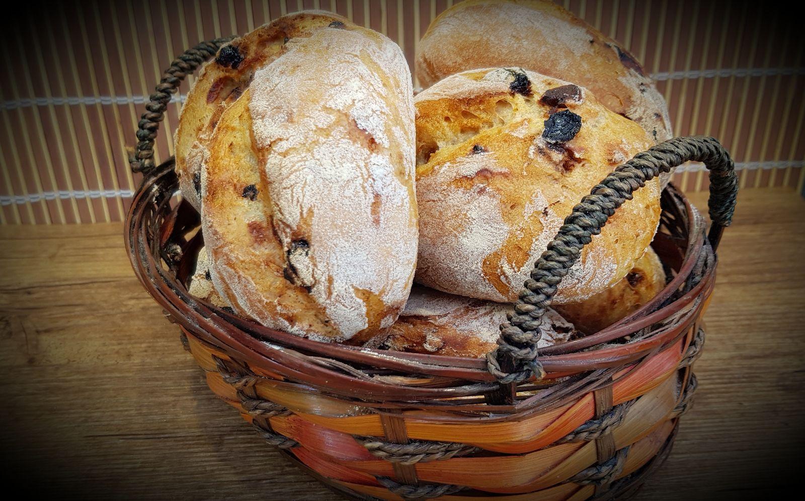 Petits pains aux fruits