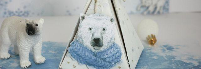Faire une boîte cadeau ourson !!