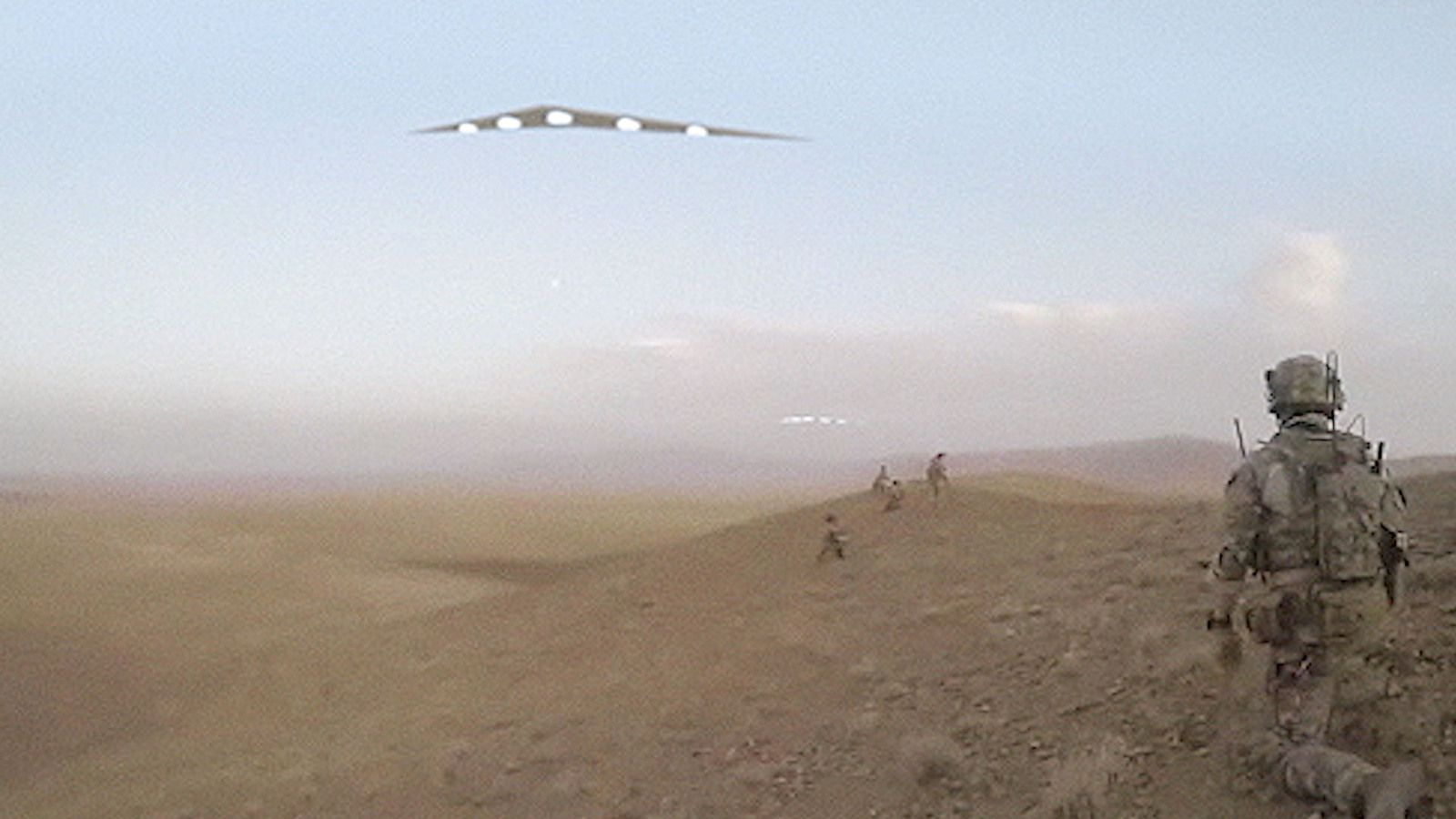 👽 Multiple TRIANGLE UFOs Filmed in Afghan Desert by US Special Forces