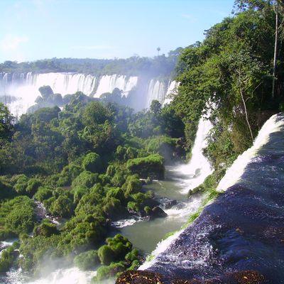 Les chutes d'Iguazu côté argentin...